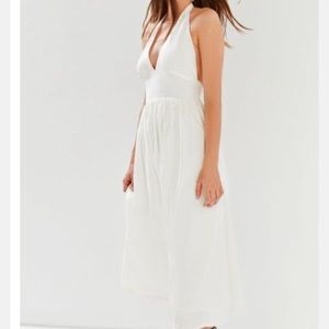 Halter Midi Dress by Urban Outfitters
